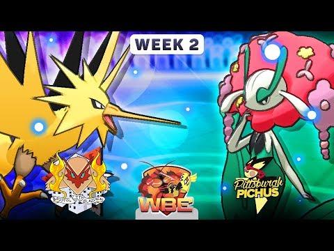 Pokemon Sun & Moon WiFi Battle • Bristol City Blazikens vs Pittsburgh Pichus • WBE W2S1