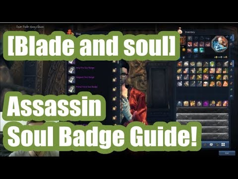 [Blade and Soul] Assassin Soul Badge Guide!