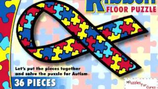 Puzzles for Cures, Autism Ribbon