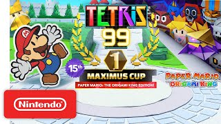 Tetris® 99 - 15th MAXIMUS CUP Gameplay Trailer - Nintendo Switch