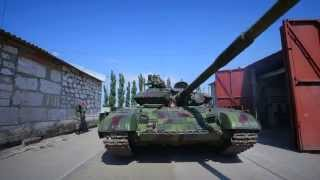 Служу Приднестровской Молдавской Республике: Танковое подразделение