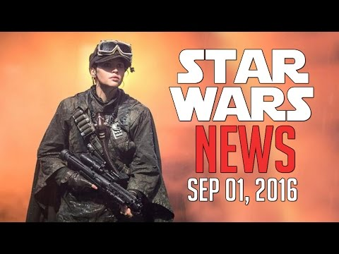 Star Wars NEWS - Sep 1, 2016 - Rogue One, Toys, 3D Glasses, Lego, and More!