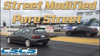 Street Mod & Pure Street DRAG RACING @ CSCS