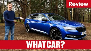 2020 Skoda Superb Estate review  why it's the best estate on sale  What Car?