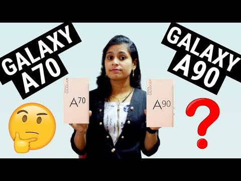 Samsung Galaxy A90 vs Samsung Galaxy A70: What To Expect ?