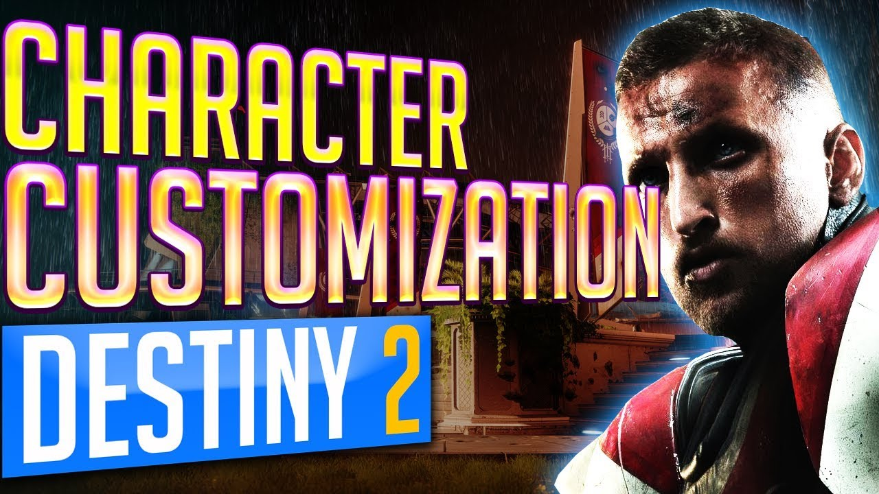 destiny 2 character creation and customization brand new character