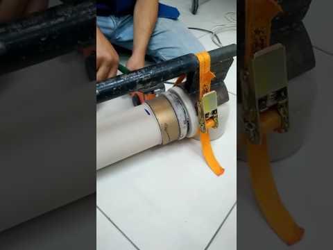 Пайка труб большого диаметра