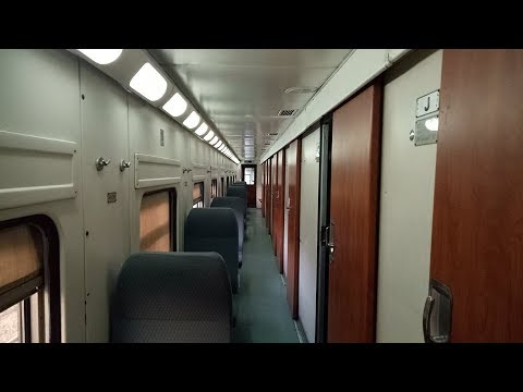 Luxurious and Elegantly Furnished Business Class Coaches of Pakistan Railways