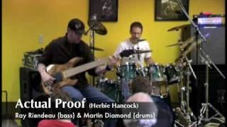 Actual Proof (H. Hancock) performed by Ray Riendeau/Martin Diamond