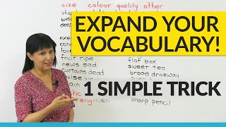 Vocabulary Hack: Learn 30+ Verbs in 10 minutes!