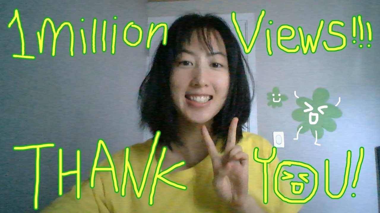 Livestream - 1 million views celebration chill! Thank you! :*)