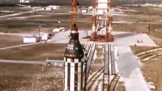NASA Project Mercury: 1960's Manned Spaceflight / Space Documentary S88TV1