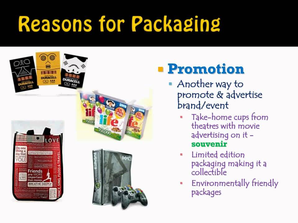 product packaging youtube
