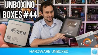 Unboxing Boxes #44: AMD Raven Ridge Unboxing, R5 2400G & R3 2200G, Asrock X399M Taichi & More!