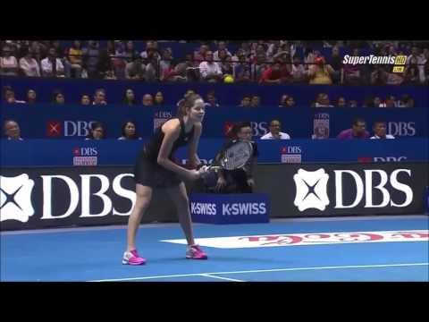 Serena Williams vs Ana Ivanovic Highlights HD IPTL 2014