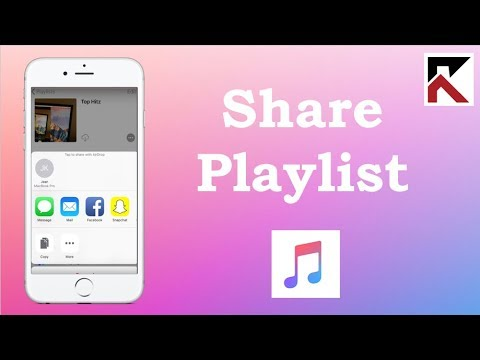 How To Share A Playlist Apple Music