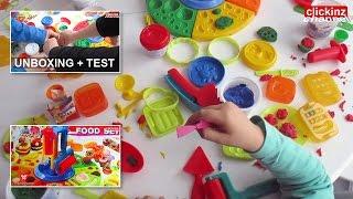 PlayGO JUEGO PLASTILINA MANUAL: COMIDA DELUXE FOOD Set PASTA MODELAR Clay VIDEO JUGUETE para NIÑOS