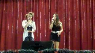ADELA SI ALEXANDRA-PARADA LA REVISTA CAMPIA TURZII-13 DECEMBRIE 2013