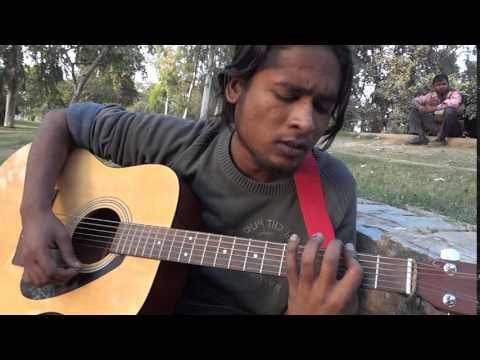 Ek Ladki Bheegi Bhaagi Si Acoustic Cover
