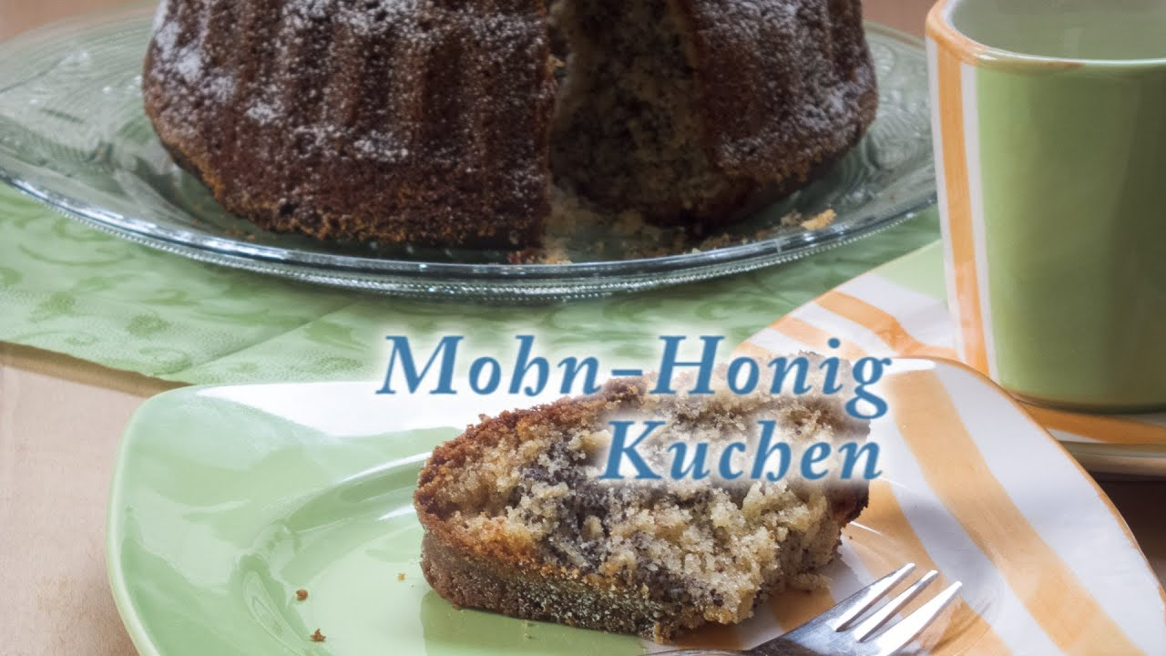 Mohn Honig Kuchen Youtube