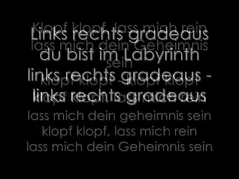 Oomph! Labyrinth German Lyics