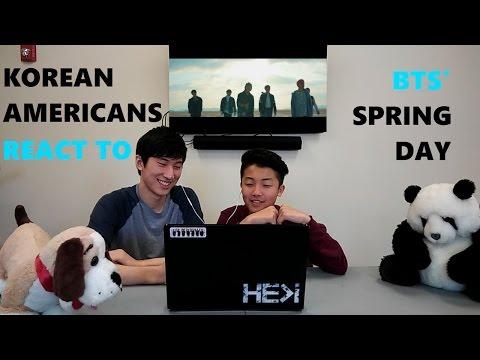 [KR] Korean Americans react to Kpop: BTS