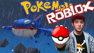 THE EMERGENCE OF KYOGRE! | POKEMON BRICK BRONZE [8] | ROBLOX #16
