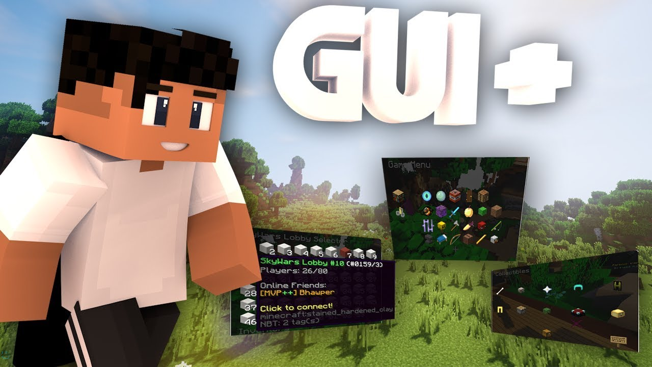 GUIPlus - Simply create clickable GUI's (Supports