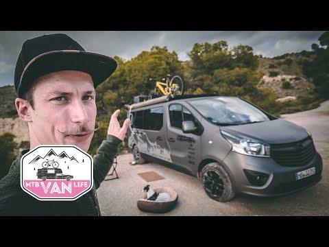VAN LIFE IN EINEM OPEL?  Roomtour durch den Vivaro MTB Camper   Ausbau Renault Trafic Fiat Talento