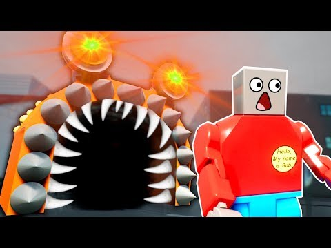 GIANT SLUG MONSTER SURVIVAL! - Brick Rigs Multiplayer Gameplay