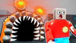 GIANT SLUG MONSTER SURVIVAL! - Brick Rigs Multiplayer Gameplay