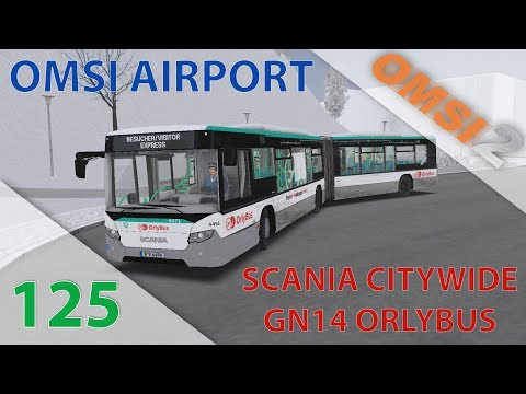 [OMSI 2] Episode N°125 : Routes Gelées En Scania Citywide + Livrée OrlyBus