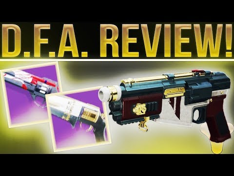 Destiny 2. BEST HAND CANNON? D.F.A. Nightfall Strike Review! Most Versatile PvE/PvP Hand Cannon.