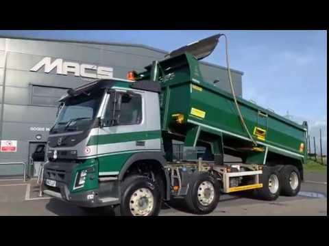 Volvo (2017) [67] FMX, 8 x 4, Rigid Tipper