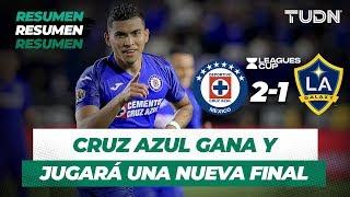 Resumen Cruz Azul 2  - 1 LA Galaxy | Semifinal Leagues Cup | TUDN