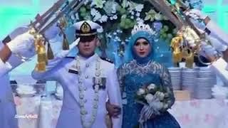 Vidio pernikahan ala militer yang romantis,,,, - Ya Habibal Qalbi