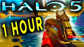 HALO 5 GAMEPLAY | 1 HOUR of WARZONE | Halo 5 60fps (Halo 5 Guardians Gameplay)