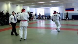 Ханлар Азизов Танк Дагестана (финальный бой)