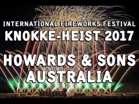 Int. Fireworks Festival Knokke-Heist 2017:  Australia - Howards & Sons - Vuurwerk - 17-8-2017