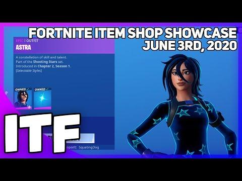 Fortnite Item Shop ASTRA IS BACK! [June 3rd, 2020] (Fortnite Battle Royale)