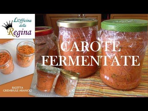 Carote fermentate (lattofermentate)