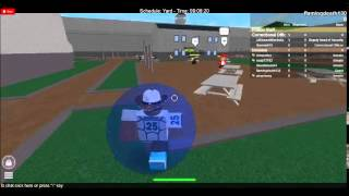 Roblox County Jail Correctional Officer Abusing
