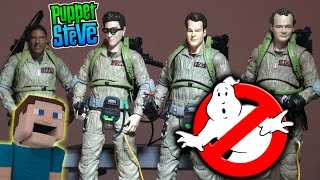 GhostBusters Diamond Select Toys Action Figures Series 1 & 2 Movie Unboxing (Ray, Peter, Egon thumbnail