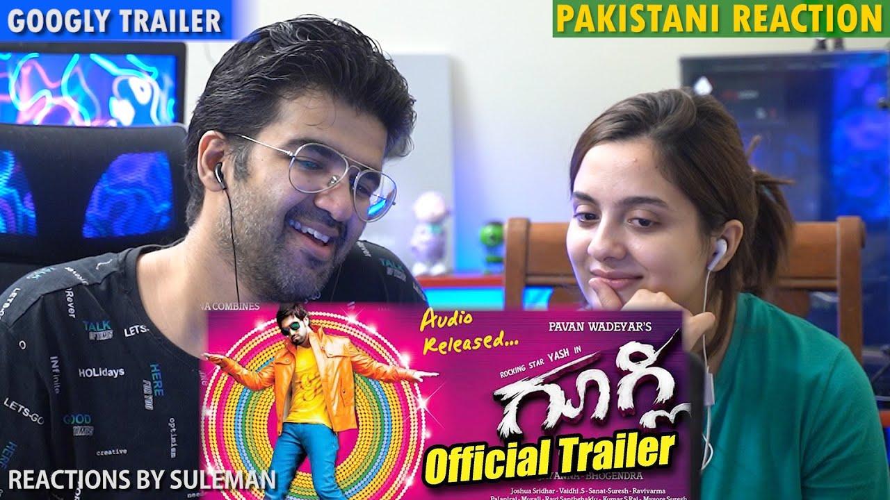 Pakistani Couple Reacts To Googly Official Trailer   Yash   Kriti Kharabanda