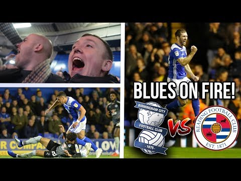 THE RUN CONTINUES!! | BIRMINGHAM CITY 2-1 READING | 23/10/2018
