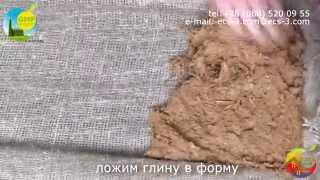 видео глиняная плитка
