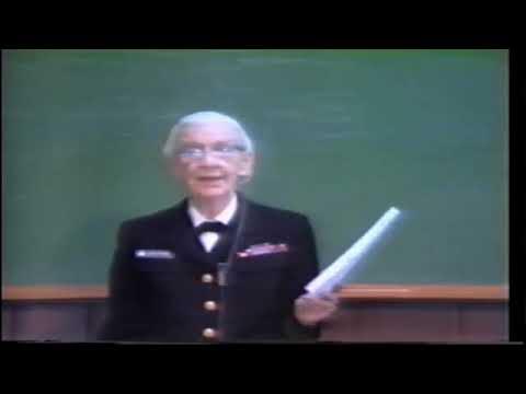 Rear Admiral Grace Hopper's famous MIT Lecture