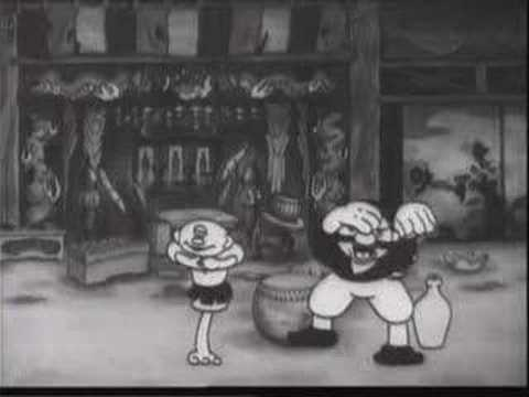 Japanese Classic Cartoon(1933)