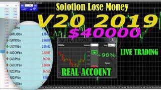IQ Option Real account $40000 l AMAZING ROBOT V20 (12 WIN) OF $500 VIRTUAL WORLD PRO 2019