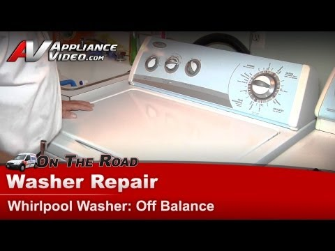 Whirlpool, Kenmore, Sears  Washer Repair & Diagnostic  Off Balance load in spin cycle
